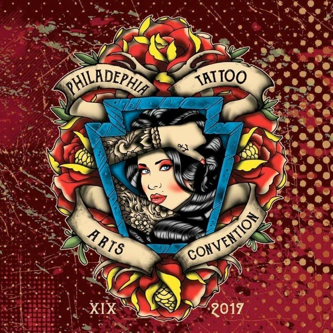 I'll be doing the 19th annual Philadelphia Tattoo Convention February 10th-12th
