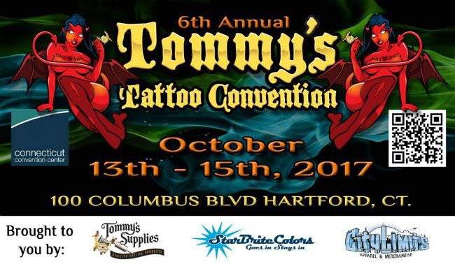 I'll be doing the Connecticut Tattoo Convention October 13th-15th