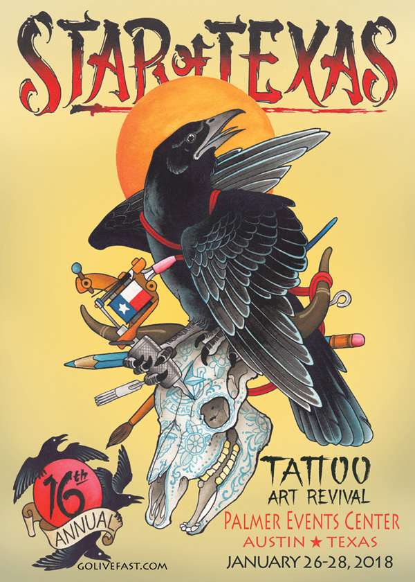 The Star Of Texas Tattoo Convention
