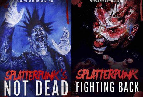 Splatterpunk covers!