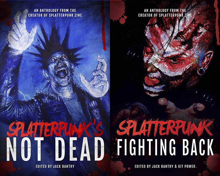 Splatterpunk covers!