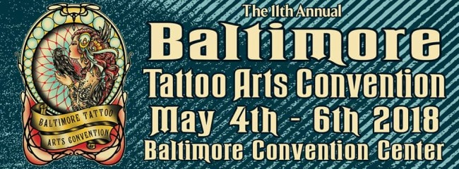 I'll be doing the Baltimore Tattoo Convention