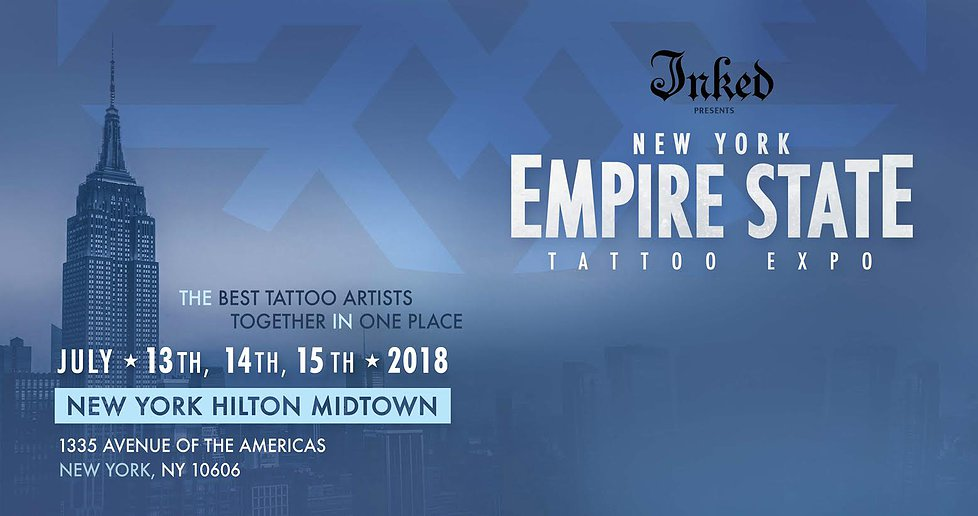 I'll be doing the New York City Tattoo Convention
