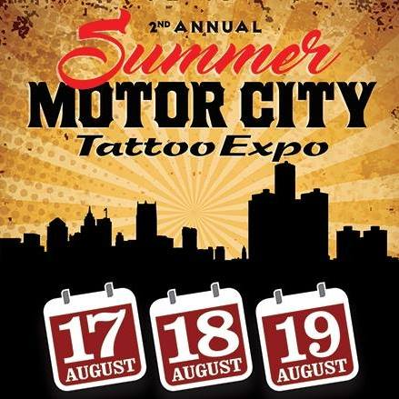 I'll be doing the summer Motor City Show August 17th-19th