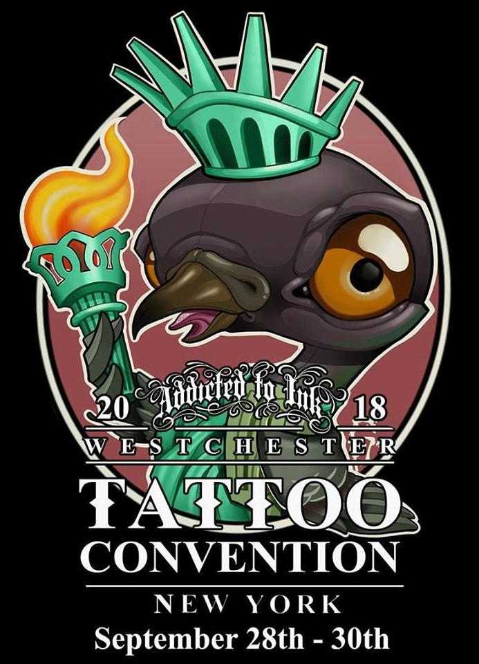 I'll Be Doing the Westchester Tattoo Convention September 28th-30th