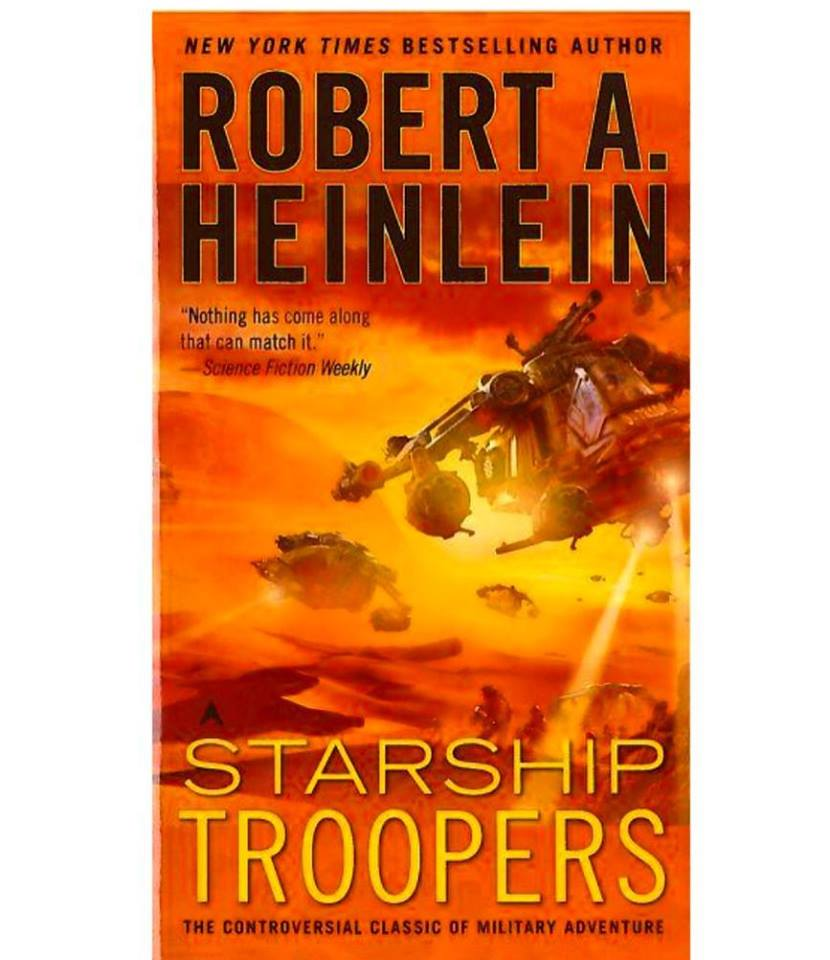 Finally read Starship Troopers