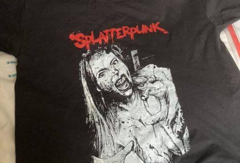 New Splatterpunk t-shirt!